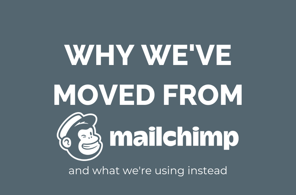 Why we've moved from mailchimp