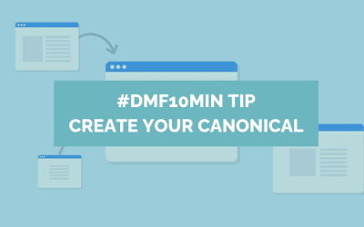 DMF 10 MIN TIP CREATE YOUR CANONICAL